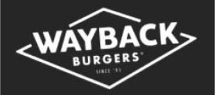 Wayback Burgers in Raleigh, NC logo